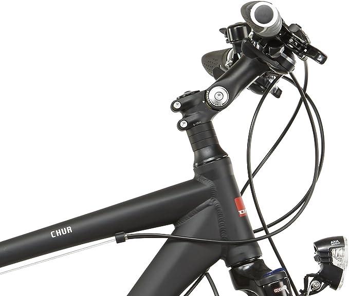 Ortler Chur - Bicicletas trekking - negro Tamaño del cuadro 60 cm 2016: Amazon.es: Deportes y aire libre
