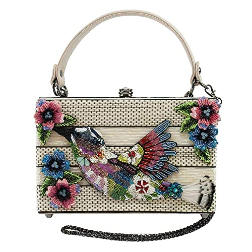 Amazon.com: MARY FRANCES - Bolso de mano con diseño de ...