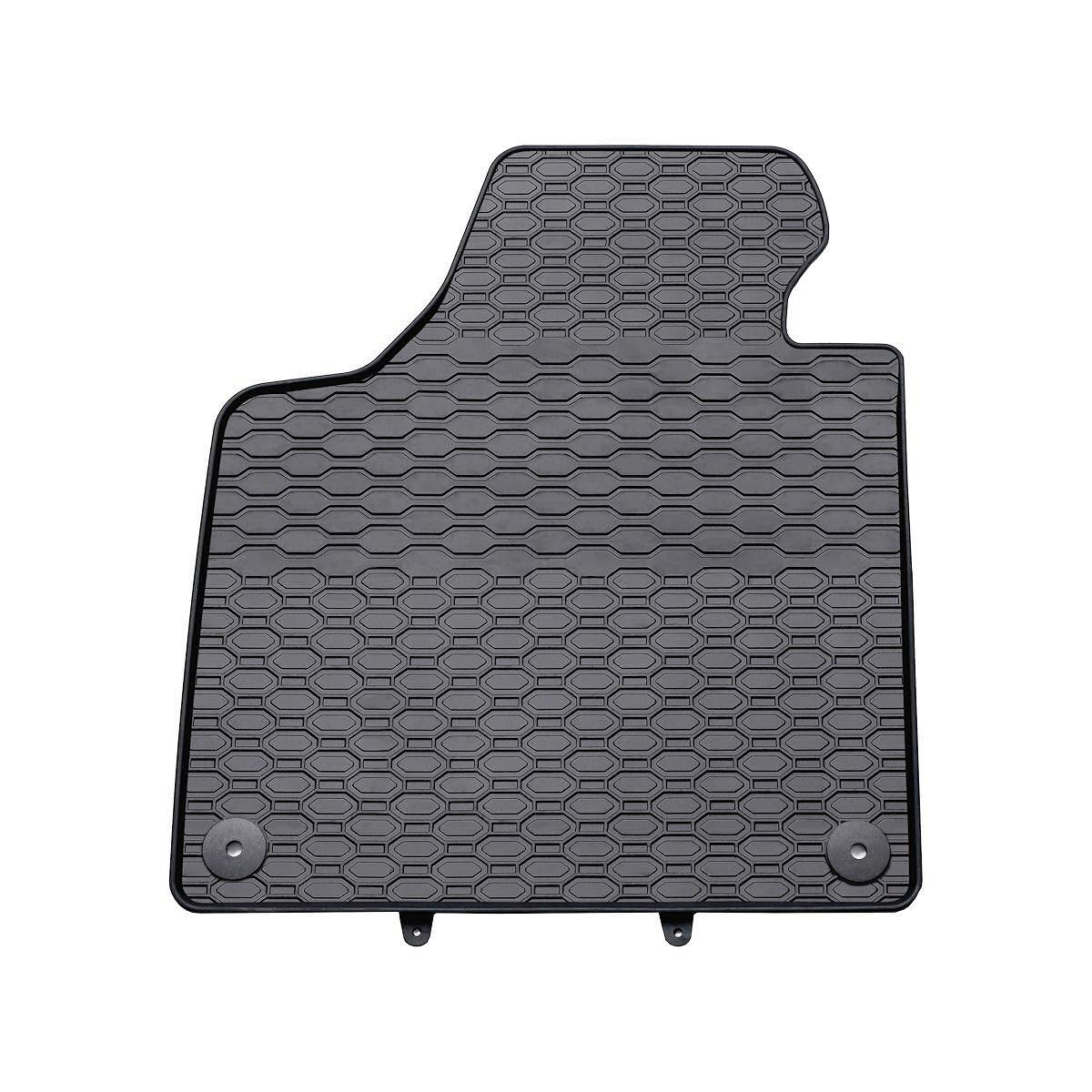 schwarz 4-teilig Gummimatten 100/% passgenau 5902538447867 Gummi Fu/ßmatten