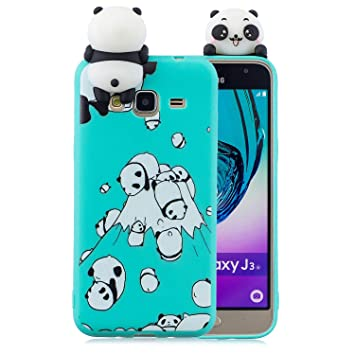 coque samsung j3 2016 panda en 3d