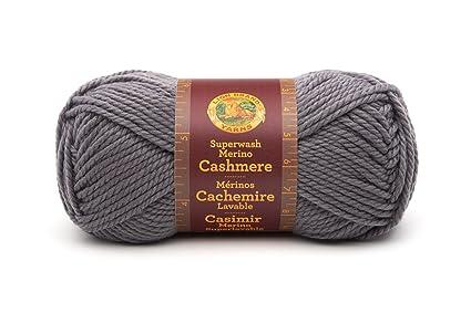 3ccbd08e416 Amazon.com  Lion Brand Yarn 821-150N Superwash Merino Cashmere Yarn ...