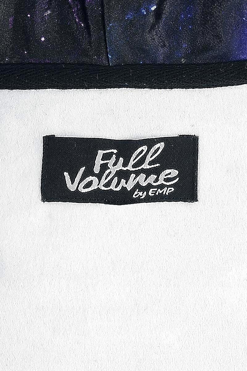 Full Volume by EMP Freaking Out Loud Kapuzenjacke schwarz