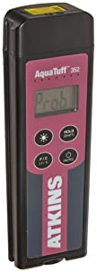 Cooper-Atkins 35200-K AquaTuff Waterproof Thermocouple Instrument with Hold and Backlit LCD, K Type, -100 to 999 Degrees F Temperature Range