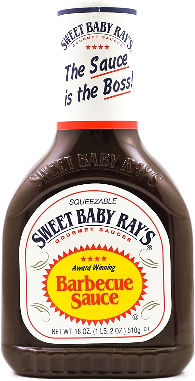 Sweet Baby Rays BBQ Sauce Original, 1 x 510 g fles: Amazon.nl