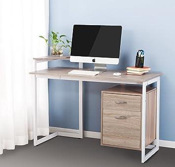 Amazoncom Merax Stylish Computer Desk Home and Office Desk