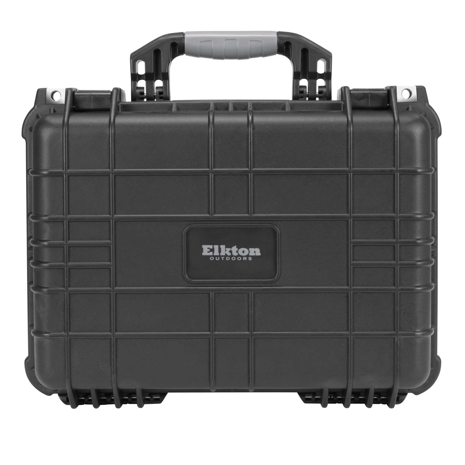 Elkton Outdoors Hard Gun Case: Fully Customizable Pistol Case: Holds 4 Handguns and 8 Magazines: Crush Resistant & Waterproof! by Elkton Outdoors (Image #5)