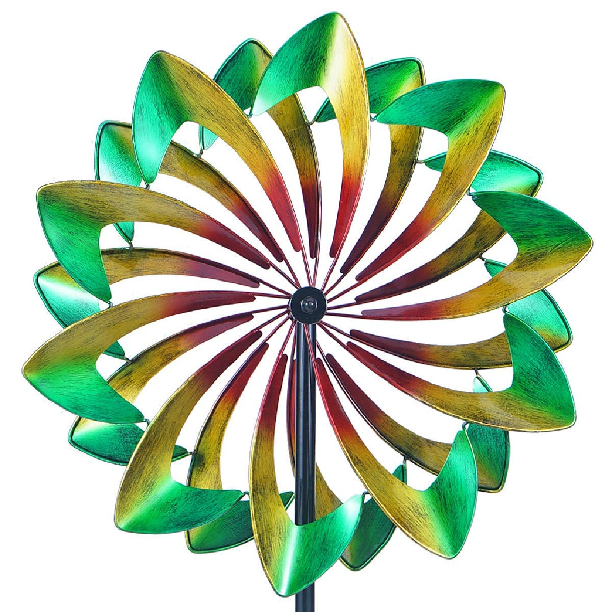 WinWindSpinner WWS-011 Win Way Giant 24 Inch Diameter Wind Spinner-Multicolor, WWS-011-Multi