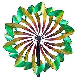 WinWindSpinner WWS-011 Win Way Giant 24 Inch Diameter Wind Spinner-Multicolor, WWS-011-Multi