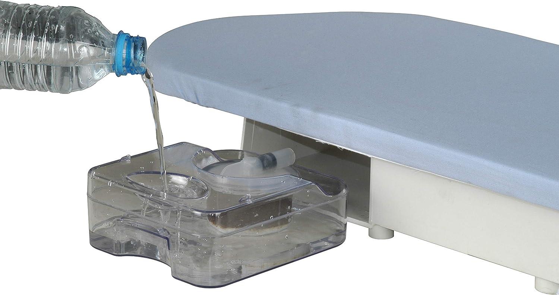 2.600 W inkl Antikalk-Wasserfilter Speedypress Professionelle Dampfb/ügelpresse Ersatzbezug und Schaumstoffunterfilz 80HD-W B/ügelaufsatz 81 cm robust