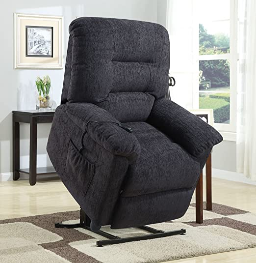 Amazon.com Coaster Recliners 601015 39u0026quot; Power Lift Recliner with Reclining Mechanism Plush Padded Arms Remote Control and Chenille Fabric Upholstery ... & Amazon.com: Coaster Recliners 601015 39u0026quot; Power Lift Recliner ... islam-shia.org