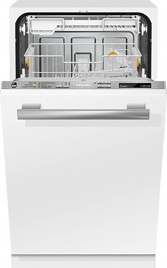 Miele G 4880 SCVi Totalmente integrado 9cubiertos A+++ lavavajilla ...