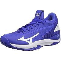 Mizuno Kadın Wave Impulse Cc tenis ayakkabısı, mavi Mavi Size: