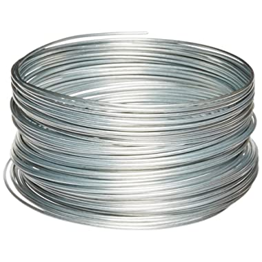 Ook 04527001297 50141 12 Gauge, 100ft Steel Galvanized Wire, 1 Pack, Multicolor