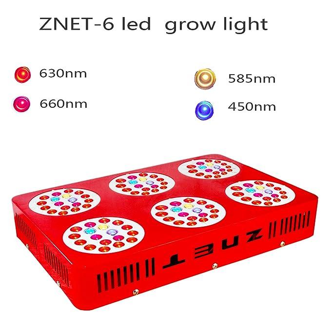 2 opinioni per ZNET6 450W Spettro Completo Lampade per Piante Led Grow Light lluminazione