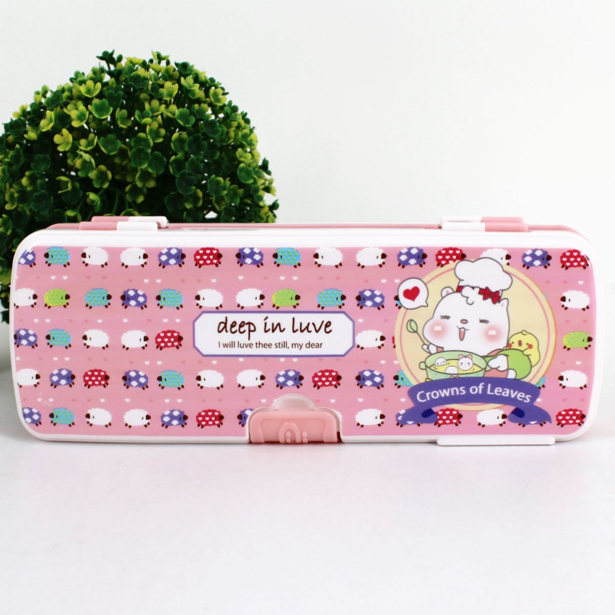 Aisa Colorful Cartoon Animals Pattern Pencil Case Multifunctional Pencil Box for Student Special Gifts for Children/Kids by Aisa (Image #4)