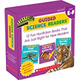 Scholastic Guided Science Readers Set, Level E-F (Guided Science Readers Parent Pack)