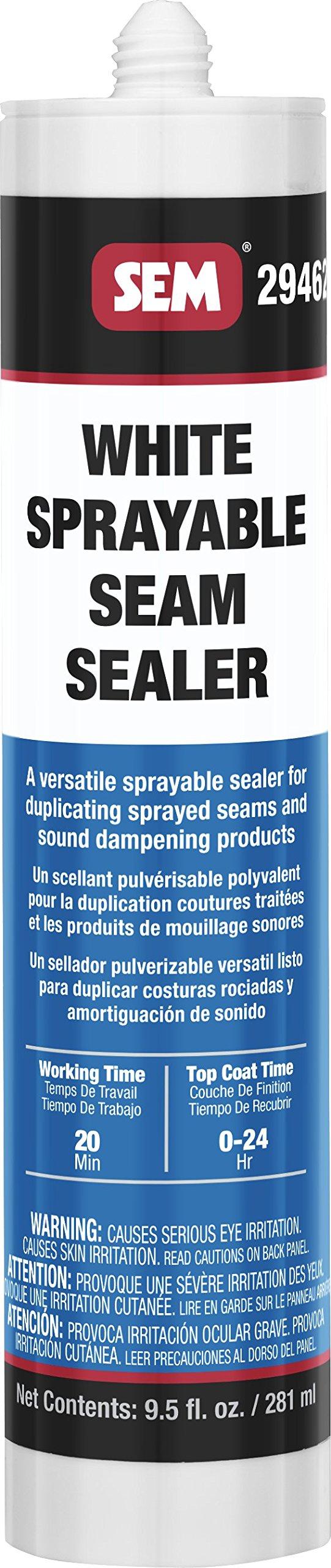 SEM 29462 1K White Seam Sealer, 9.5 Fluid_Ounces