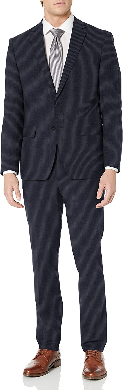 Calvin Klein Men's Stretch Slim Fit Suit