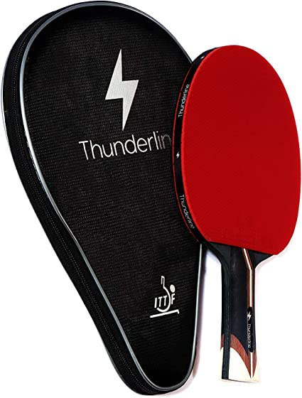 Amazon.com: Thunderline 6 Star Premium Ping Pong Paddle ...