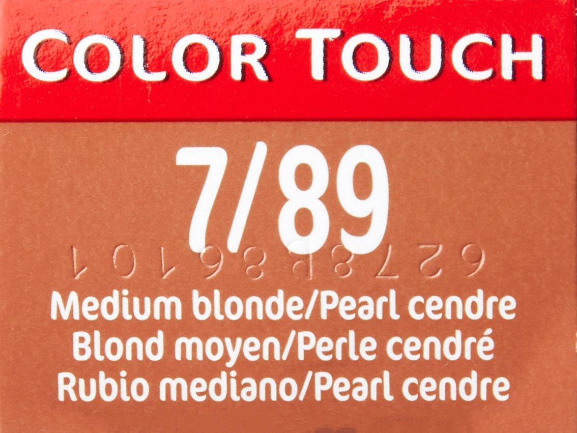 Wella color touch 789 medium blonde pearl cendre 2 oz amazon wella color touch 789 medium blonde pearl cendre 2 oz amazon beauty nvjuhfo Choice Image
