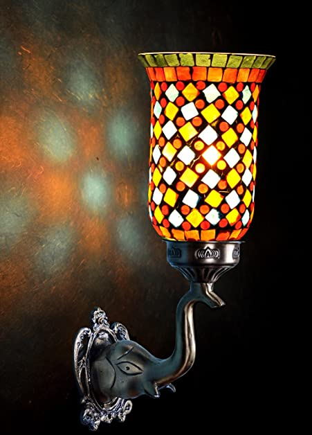 Rajasthani Handmade Vintage Wall Sconces Lamp Christmas Decoration 8 ...