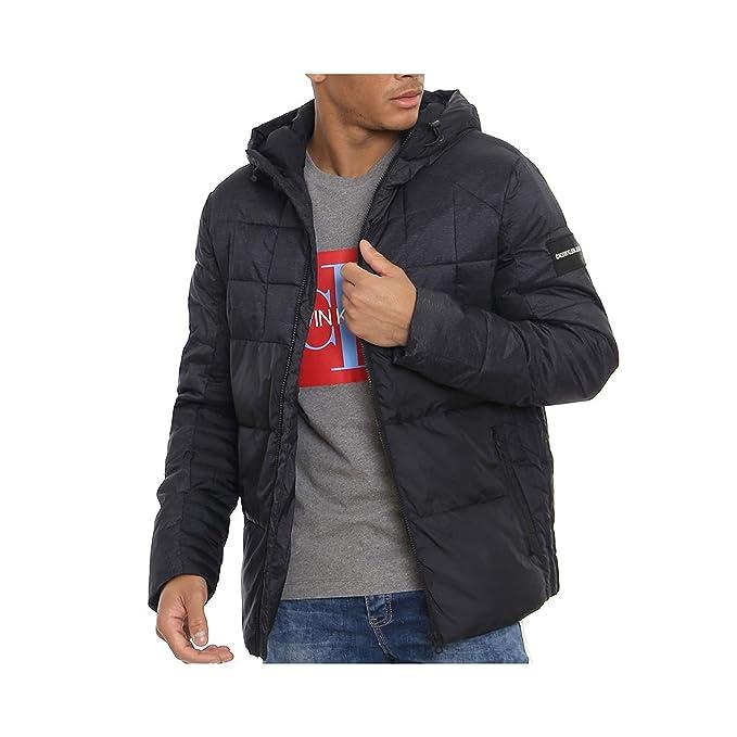 Calvin Klein Chaqueta con capucha para hombre J30J309490 099: Amazon.es: Ropa y accesorios