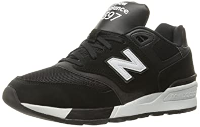 0ba7c811bdc2b New Balance Men's ML597Modern Classics Fashion Sneaker, Black/White, ...
