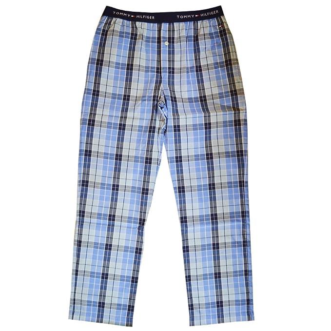 Tommy Hilfiger 2S8903921 - Pantalones de pijama para hombre, color lew peacoat, talla L