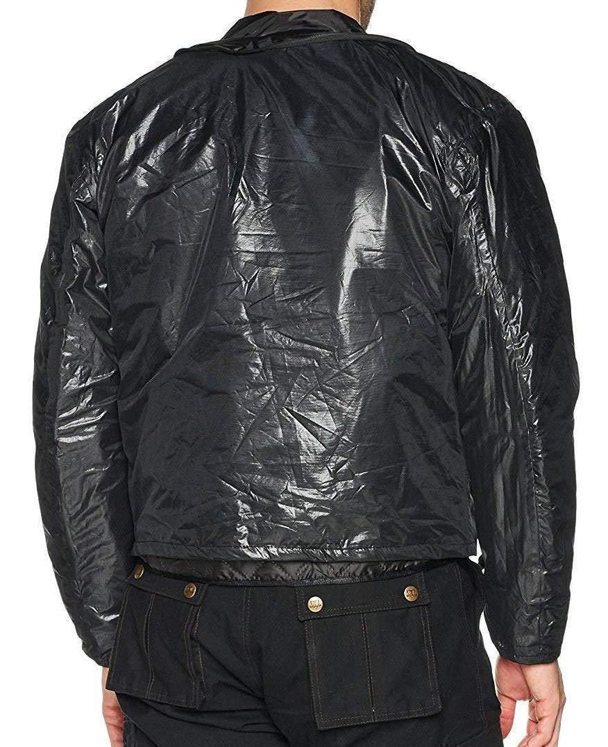 Veste de Moto d/ét/é en Cordura//Mesh Chicane Noir imperm/éable//Renforts CE L