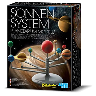 "4M ""Kidz Labs Solar System Planetarium Model (Multi-Colour): Toys & Games"