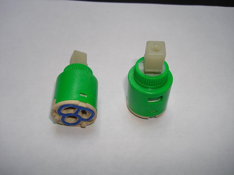 ceramic disc cartridge 25mm diameter for bath basin shower mixer ceramic disc cartridge 25mm diameter for bath basin shower mixer tap valve repair replacement 187c amazon co uk diy tools