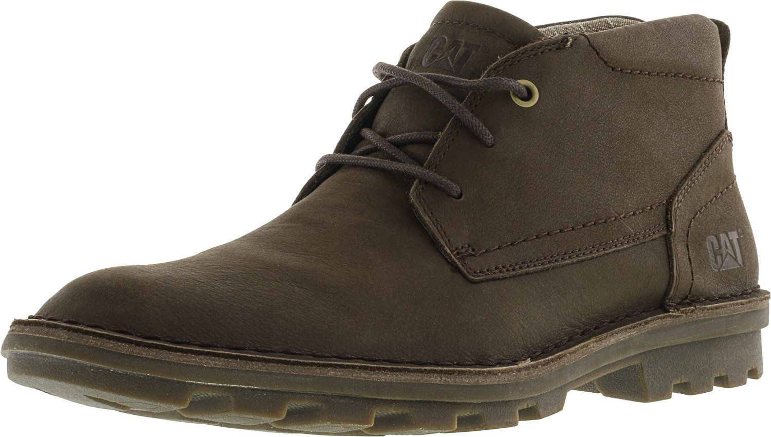 Caterpillar Men's Brady Mid Chukka Boot, Summer Brown, 12 M US