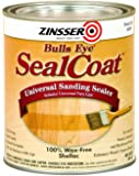 Rust-Oleum Zinsser 854 1-Quart Bulls Eye Sealcoat Universal Sanding Sealer - 6 Pack