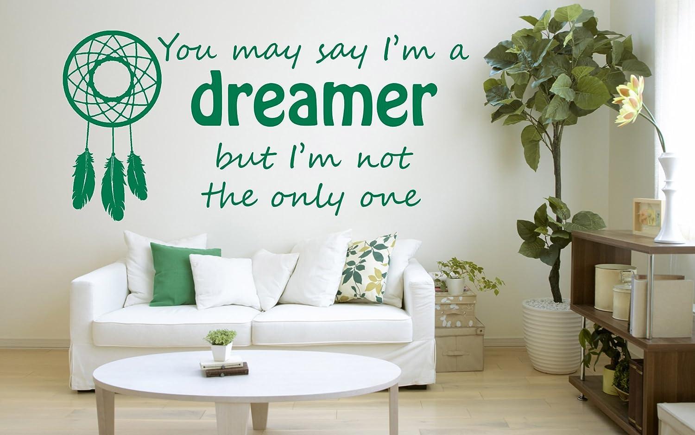 Amazon John Lennon Song Lyrics Quote Imagine Dreamer Vinyl