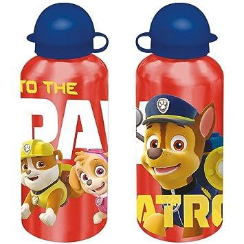 Paw Patrol Aluminium Trinkflasche Jungen /& M/ädchen Hellblau