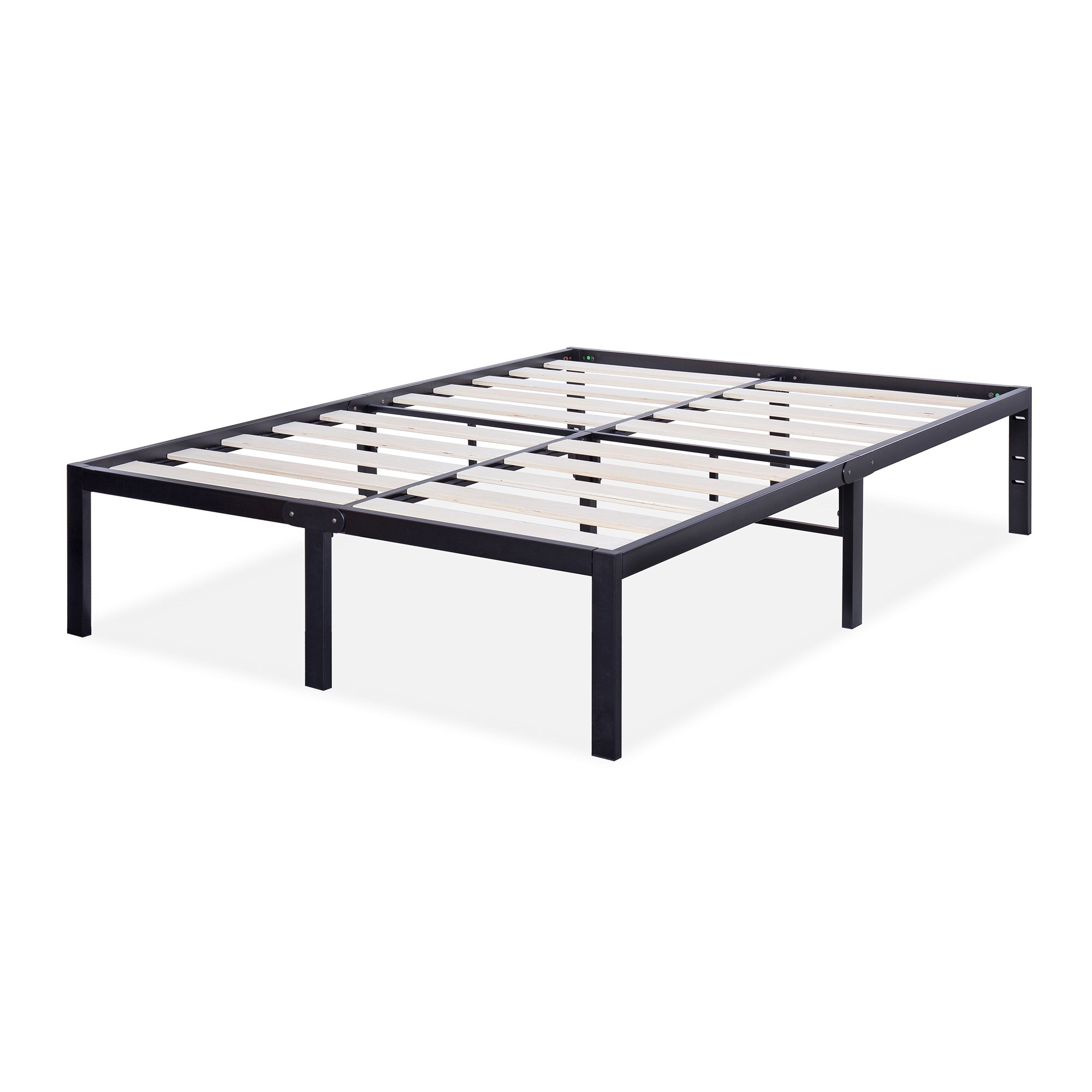 Sleeplace Svc14bf06t 14 Inch St 3000 Ultra 3 Inch Wood Slat Bed Frame Twin Ebay