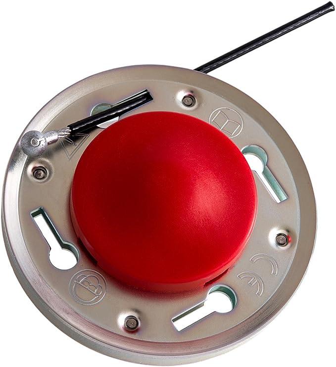 Bessertrim 4.0 MM sistema di taglio erba ROSSO NYLON CUTTER 50 Pack Cutter
