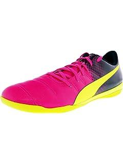 20107fbfa3c3 PUMA Men s Evopower 4.3 IT Pink Soccer Shoe