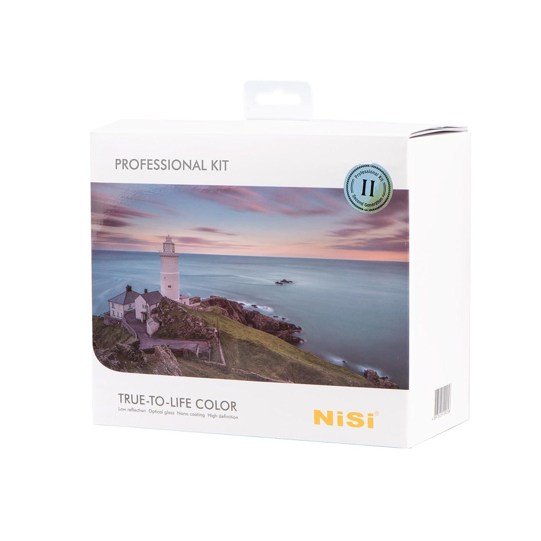 NiSi 100mm フィルターセット高級版Ⅱ  100mm System V5 PRO Holder +100x150mm Multi-coated Graduated ND Filter+ 100x100mm Nano Multicoated IR ND Filter + All in One Case +V5 Lens Cap+Cleaning kit (100mm Professional Kit)   B06XYHLV1L