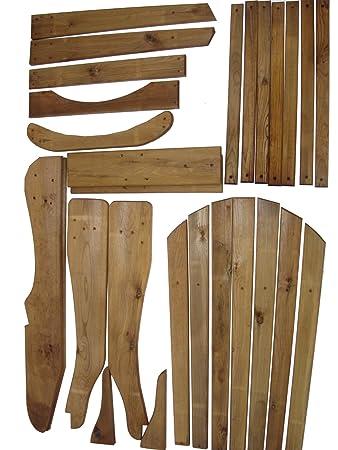 Adirondack Chair Kit & Adirondack Chair Kit: Amazon.co.uk: Garden u0026 Outdoors