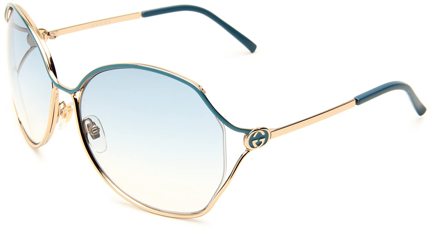 fdd390a479e Amazon.com  Gucci Women s 2846 S Round Sunglasses