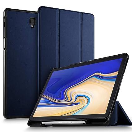 ELTD Hülle für Samsung Galaxy Tab S4 T830/T835, Ultra Leightweight Flip mit Ständer und Eingebautem Magnet PU Leder Hülle für