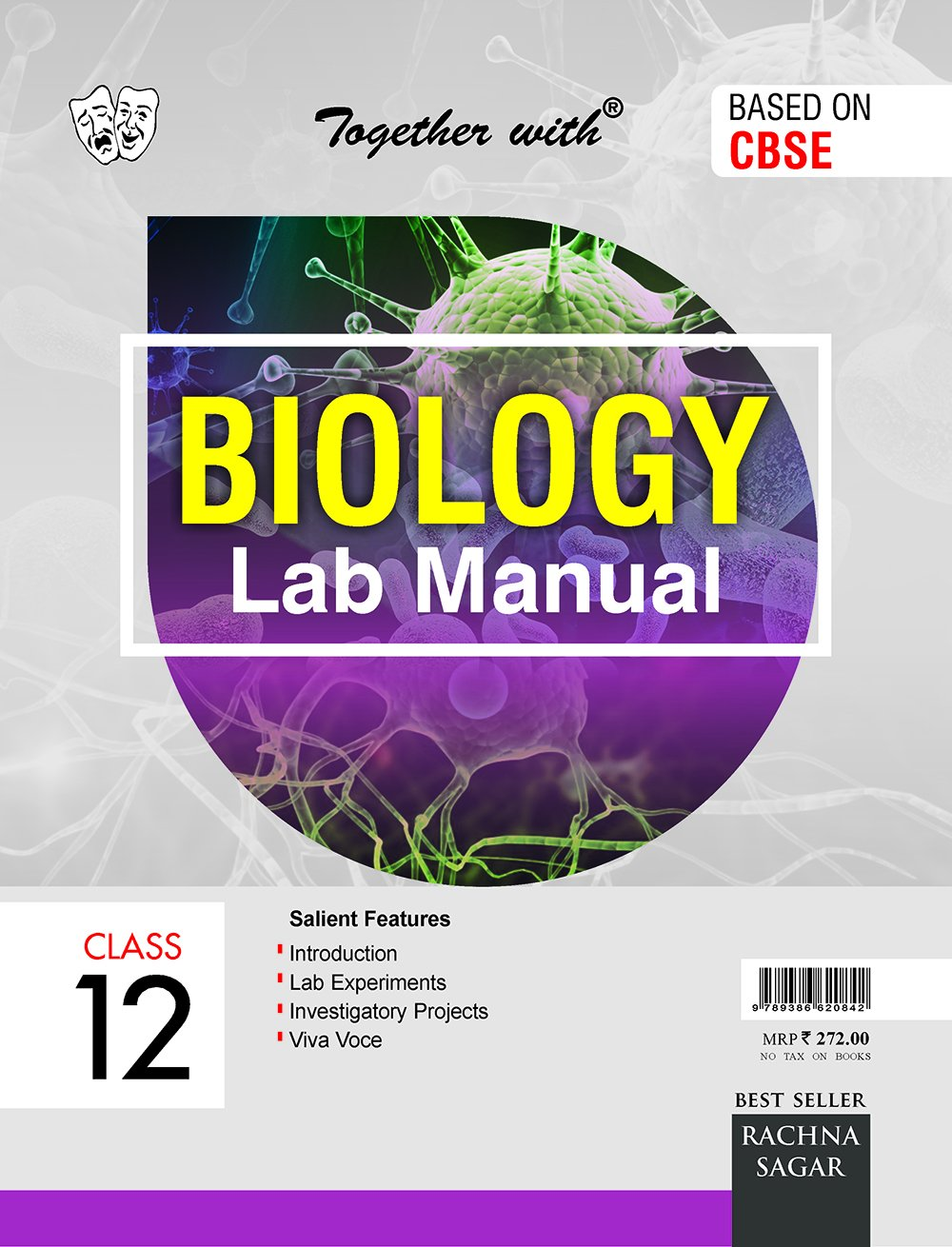 Together with CBSE Lab Manual Biology for Class 12 for 2019 Exam Paperback  – Dec 2017