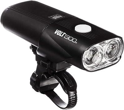 CatEye Volt 1300 Lumen Rechargable Luz Delantera, Unisex Adulto, Negro, Talla única: Amazon.es: Deportes y aire libre