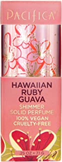 product image for Pacifica Hawaiian Ruby Guava Shimmer Solid Perfume, 0.25 Ounce