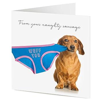 Te WUFF – perro salchicha perro tirando de ropa