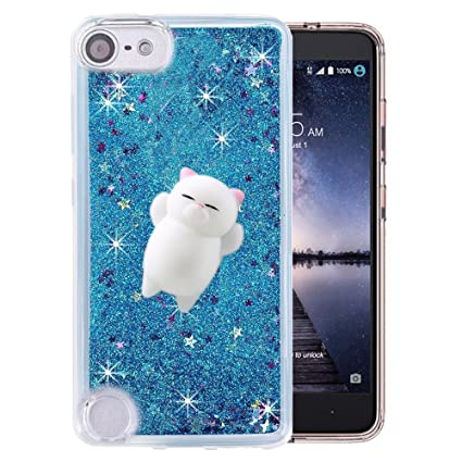 Amazon.com: Funda para Ipod Touch 6, brillo estrellas Liquid ...