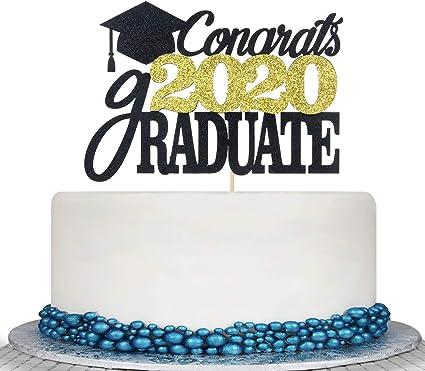 Graduation Party Cake Topper 3 Pc School Celebration