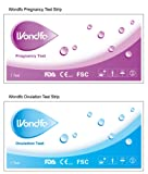 Combo 40 (LH) Ovulation & 10 (HCG) Pregnancy Test Strips
