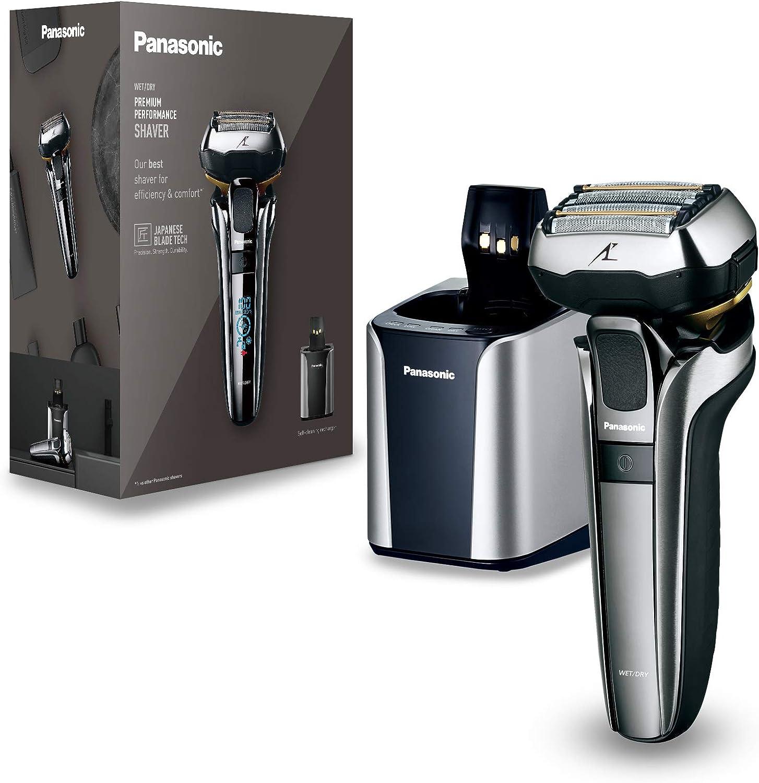 Panasonic ES-LV9Q-S803 Máquina de afeitar de láminas Negro, Plata - Afeitadora (Máquina de afeitar de láminas, Negro, Plata, Batería, Ión de litio, Integrado, 50 min)